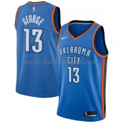 Maglie NBA Oklahoma City Thunder 2018 Canotte Paul George 13# Icon Edition..